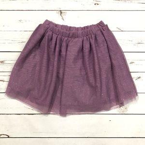 Toughskins Purple Glitter Skirt Never Worn